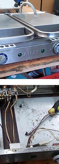 Ремонт контактного гриля Маэстро ГК-2
