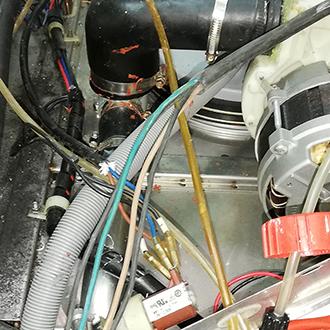 Восстановление посудомоечной машины KOCATEQ LHCPX1(U1)