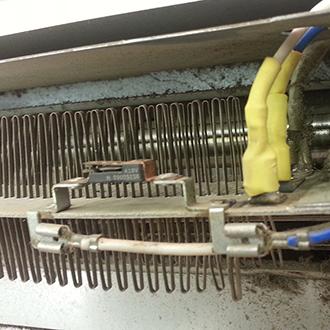Ремонт тепловой завесы М-3